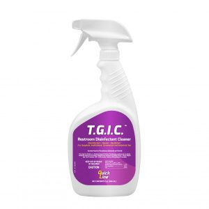 Disinfectant Cleaner Restroom Per bottle Quickline – T.G.I.C. 32oz