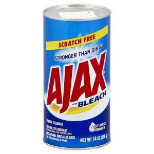 Ajax Powder Cleanser W / Bleach Can 14 oz